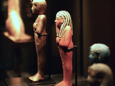 Ancient Egyptian craftsmen used trademarks to identify the source of their crafts.